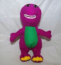 Barney The Purple Dino Dinosaur Figure Soft Rag Plush Doll Toy Stuffed Animal
