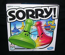 Sorry! Family Board Game Fun Classic 2013 Edition Game MADE IN USA