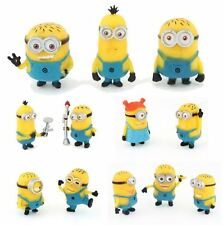 Despicable Me 2 Minions Movie Character 12pcs Figures Cake Toppers