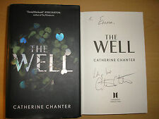 CATHERINE CHANTER - THE WELL  1st/1st    HB/DJ  2015  SIGNED & LINED