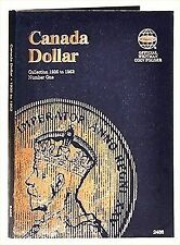 Whitman Coin Folder 2486 CANADA Dollar 1935-1952 Volume 1