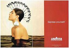 PUBLICITE  2003   LAVAZZA  café  (2 pages))  ESPRESS YOURSELF