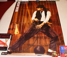 Michael Jackson Leave Me Alone Original 1989 Official Triumph Poster MEGA RARE