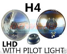 """5,75 """" 5 3/4"""" lhd voiture classique Projecteur Phare Halogène H4 Conversion avec pilote"""
