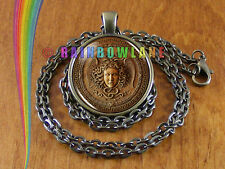 Medusa Head God Goddess Mens Womens Necklace Pendant Jewelry Charm Gift Gifts