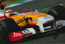 Ho-Pin Tung Hand Signed 12x8 Photo F1 Renault 6.