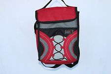 Adventuridge Essentials Red/Gray Insulated Lunch Pack in Great CLEAN Condition