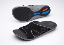 Spenco Kholo Men's Orthotic Slide Sandals Carbon / Pewter - 12 Wide