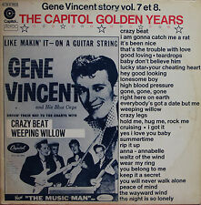 "Vinyle 33T Gene Vincent ""Story vol.7 et 8 - The capitol golden years"""