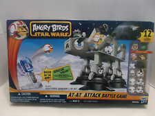 Star Wars Angry Birds AT-AT Attack Battle Game Exclusive Figures Hasbro NIB 2012