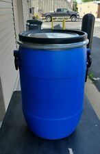 HDPE FOOD GRADE Blue Plastic Barrels Drum 13GAL/50 Liters Storage Container