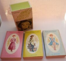 Anne Of Green Gables Triple Treat Boxed Set Canada Ed 1968 Montgomery Books