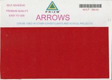 PRIZM Sheet of ARROWS ~ 200 Arrows Self adhesive - Premium Quality EASY TO USE