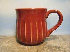 RED STONEWARE FLUTED MUG REPLACEMENT