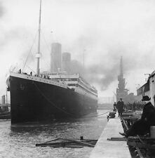 "12 4""X6"" PHOTOS TITANIC OCEAN LINER 1912 PACK # 1   PHOTO"