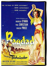 Bagdad 1949 DVD - Maureen O'Hara, Vincent Price, Paul Christian
