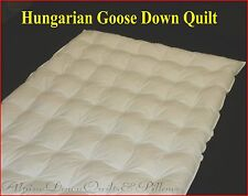 QUEEN SIZE QUILT/DUVET 95% HUNGARIAN GOOSE DOWN 1 BLANKET SUMMER  SALE