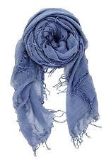 CHAN LUU NEW Cloud Gray Grey Beautiful CASHMERE & SILK SOFT SCARF Shawl Wrap