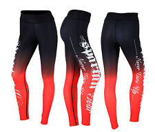 Womens Workout Thick Leggings Bottoms Running Gym Zumba Yoga Fitness
