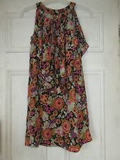 Vintage Chelsea girl top 60's print size 10 River Island