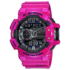 CASIO G-SHOCK G'MIX Bluetooth Purple Metallic Colour Series Watch GBA-400-4C