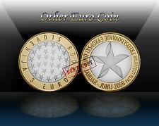 """SLOVENIA 3 EURO 2008 """" Prasidency of the EU """" commemorative coin * UNCIRCULATED"""
