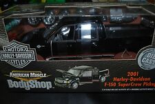 1/18 2001 Ford F-150 super crew pickup truck Harley Davidson edition, kit NCIE!