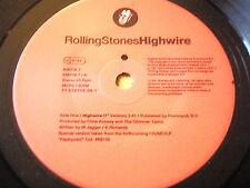 """ROLLING STONES - HIGHWIRE   7"""" VINYL"""
