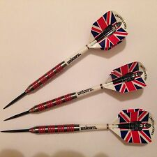 24g Tungsten Darts Eric Bristow Style. Unicorn Shafts. Crafty Cockney Flights