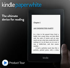"Amazon kindle paperwhite 6"" (212ppi) built-in light free 3G + wi-fi 6th gen!!!"
