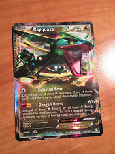 NM Pokemon RAYQUAZA EX Card DRAGONS EXALTED Set 85/124 Black White BW Ultra Rare