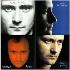 PHIL COLLINS 1981-1989 Studio Albums set of Four UK Vinyl LPs Face Value