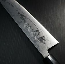 Japanese Shinji Fujishita Damascus AOGAMI Blue Steel #2 Gyuto Chef's Knife Japan