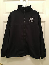 Team USA United States Olympic Committee London Olympics Full Zip Jacket Large