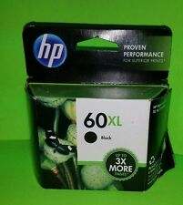 Genuine HP 60XL Black Ink Cartridges New Exp Mar 2013