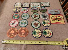 BSA Nebraska Wyoming Camp Camporee Patches Covered Wagon Pressy Park & More