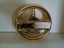 Loose Nintendo Wii Racing Wheel Gold For Nintendo Wii Wii U Remote Not Included