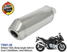 Universal motorcycle performance exhaust muffler for Scooter ATV Enduro 50mm