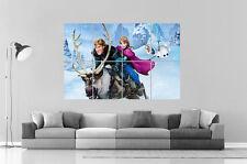 LA REINE DES NEIGES FROZEN  Wall Art Poster Grand format A0 Large Print