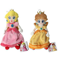Princess Daisy & Peach Plush (set of 2) Super Mario All Star Collection by Sanei