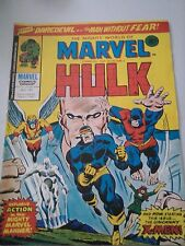 The Mighty World of Marvel Starring The Incredible Hulk Issue 187 UK Comic