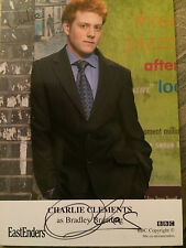 6x4 Hand Signed Photo of Eastenders Star Charlie Clements - Bradley Branning