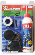 Joe's No-Flats TUBELESS SYSTEM ALL MOUNTAIN AUTO / SCHRADER VALVE,19-25 mm width