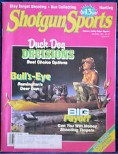 Rare Vintage Magazine SHOTGUN SPORTS September 1991 !!! REMINGTON DEER GUN  !!!
