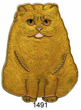 BRO1491  - BROCHE - CHAT 5