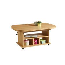 Couchtisch RICA Buchenachbildung Buche Beistelltisch Wohnzimmertisch Tisch