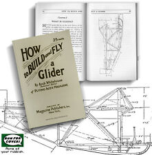 How to Build and Fly a Glider (Lindsay how to book)