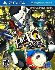 PLAYSTATION VITA PSV GAME PERSONA 4 GOLDEN BRAND NEW & FACTORY SEALED