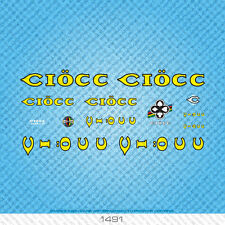 Ciocc Ciöcc Bicycle Decals - Transfers - Stickers - Set 1491