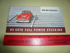 1954 DeSoto Automatic Powerflite Transmission Sales Brochure - Vintage
